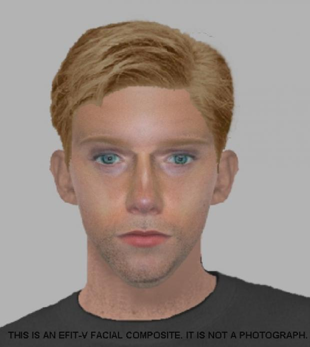 Police have issued an efit image of a man they want to speak to in relation to the robbery
