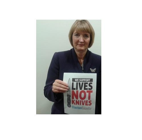 Backing: Harriet Harman
