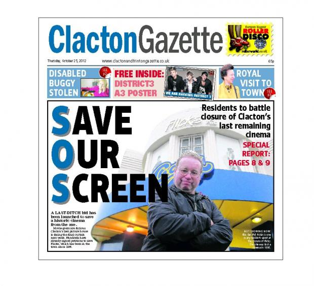 IN THIS WEEK'S CLACTON GAZETTE