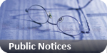 Clacton and Frinton Gazette: public notices classified
