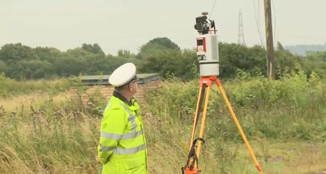Essex: Video: 3D laser scanner to aid police investigation