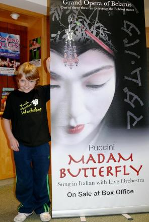 Elliot, aged 7, wins first pro role in Madam Butterfly
