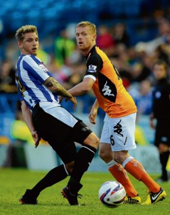 No go - Daniel Jones (pictured left), who was believed to be interesting Colchester United, has joined Port Vale after leaving Sheffield Wednesday.