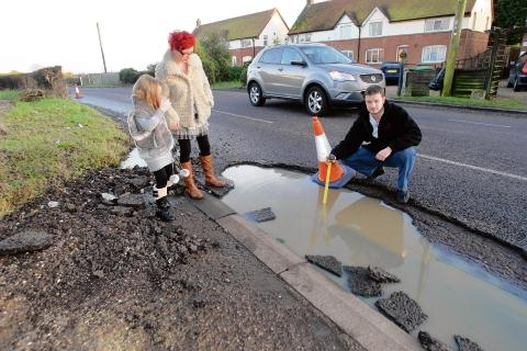 Residents want quicker road fixes