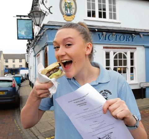 Pubs backs a winner - by putting horse on menu