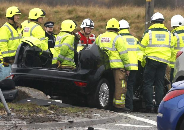 Clacton and Frinton Gazette: UPDATE: Two taken to hospital after A120 crash