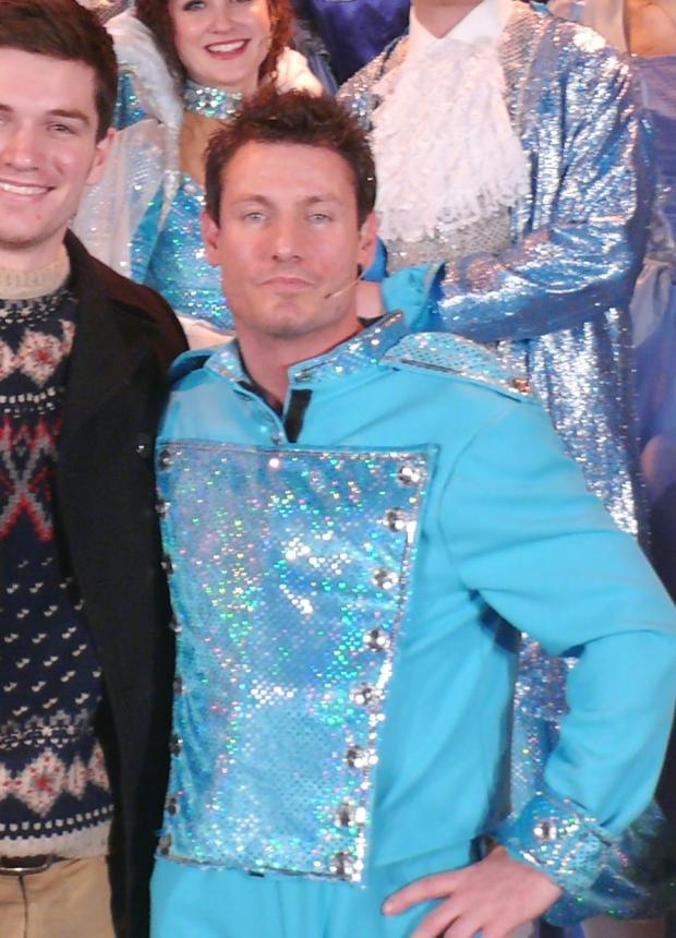 Panto star Dean Gaffney hurt in serious crash