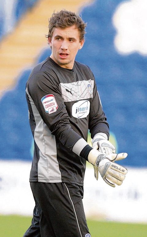 In safe hands - Sam Walker has impressed in the first three games of his loan spell with Colchester United. Picture: SEANA HUGHES (CO74606-01)