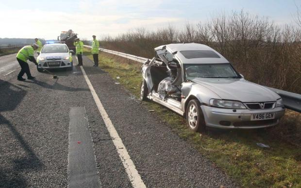 Clacton and Frinton Gazette: Road closed following crash on A133