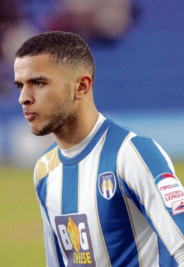 Loan ranger - Billy Clifford is staying at Colchester United until the end of the season after extending his loan from Chelsea. Picture: STEVE ARGENT (CO74608-46)