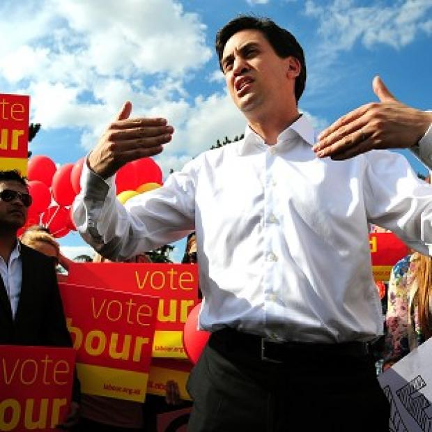 Ed Miliband is campaigning for John O'Farrell, Labour's candidate in the Eastleigh by-election