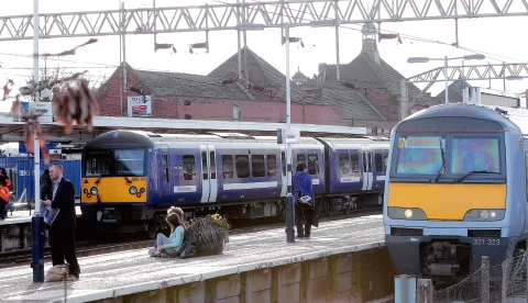 Rail disruption after person hit by train