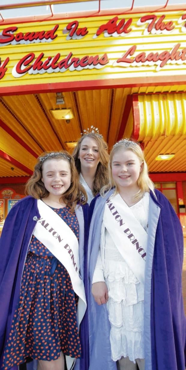 New carnival queen crowned for Walton