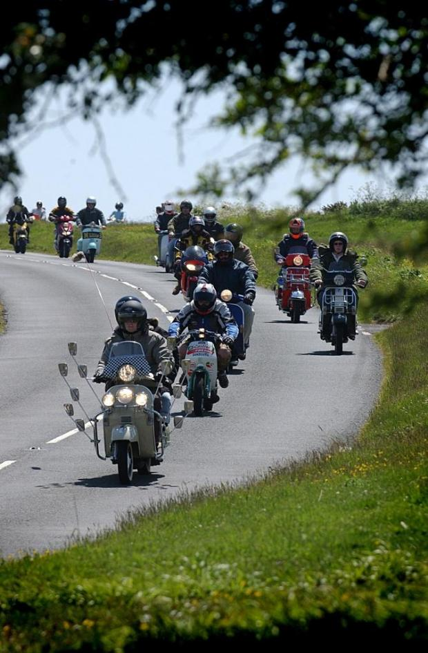 Clacton and Frinton Gazette: Hundreds of scooter fans are expected in Clacton this weekend.
