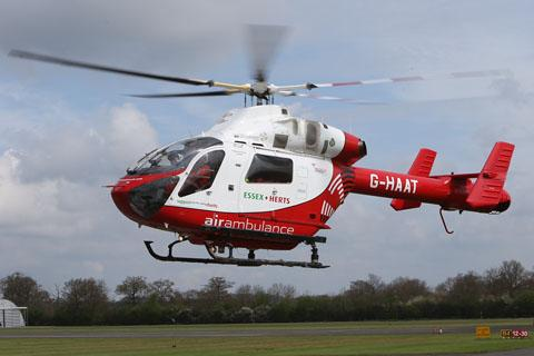 Air ambulance called to unconscious man