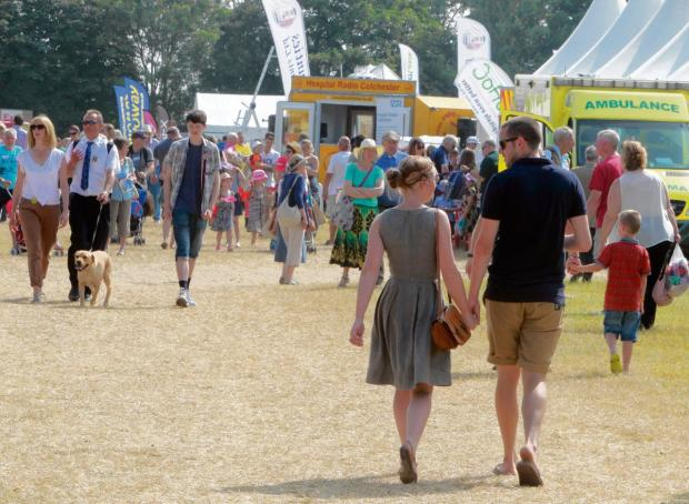 Clacton and Frinton Gazette: Huge crowds at Lawford for Tendring Show