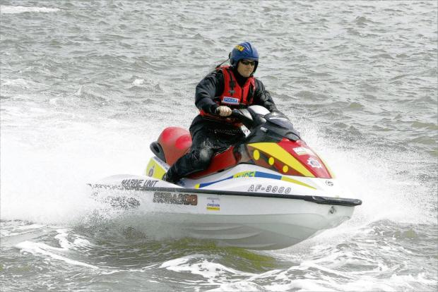 Essex Police Marine Division (pictured) snared speeding jet-skiers