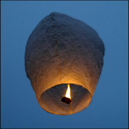 Village outlaws Chinese lanterns for being fire threat