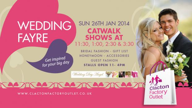 Clacton Factory Outlet set for wedding fair