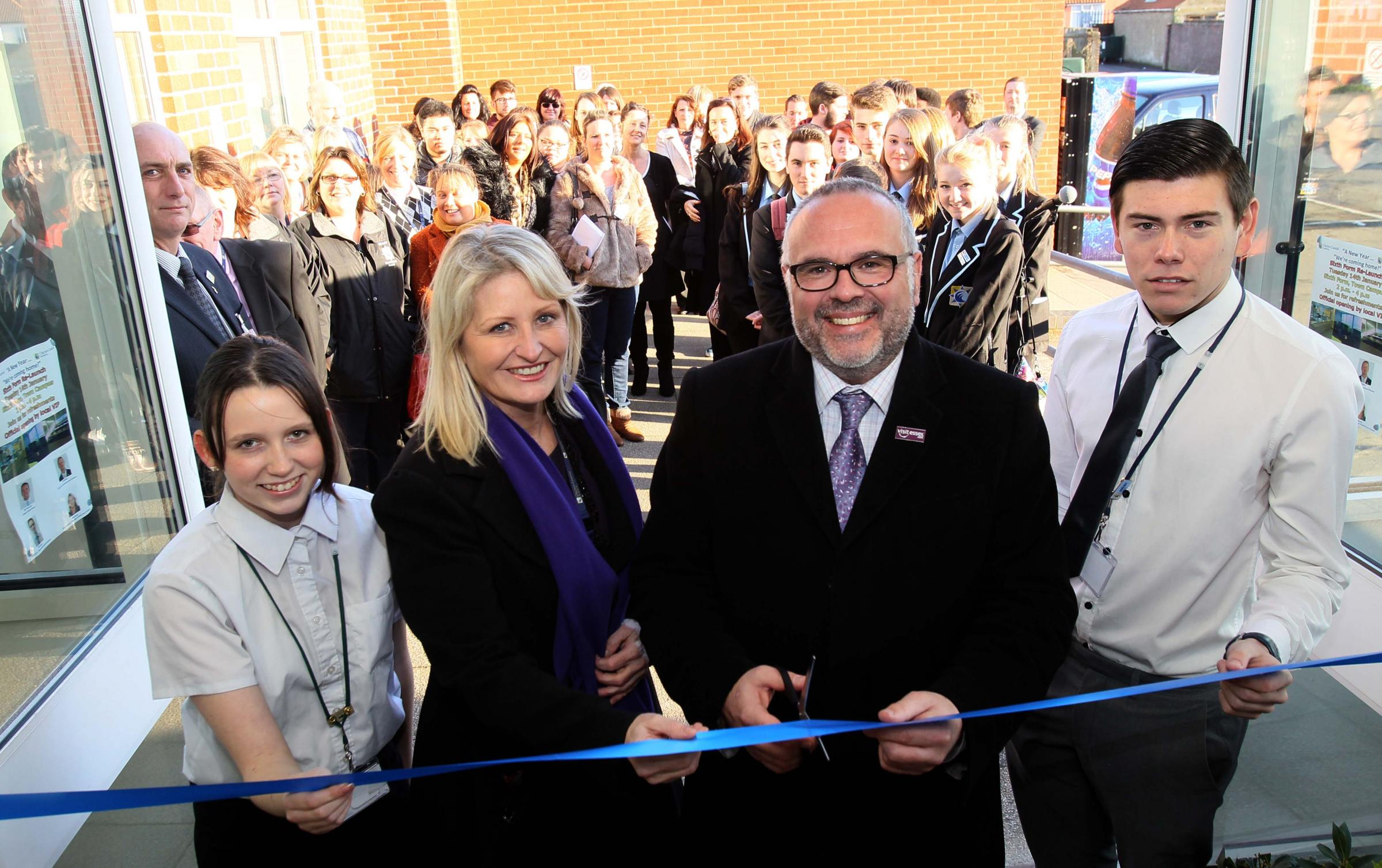 New sixth form centre opened at Clacton academy