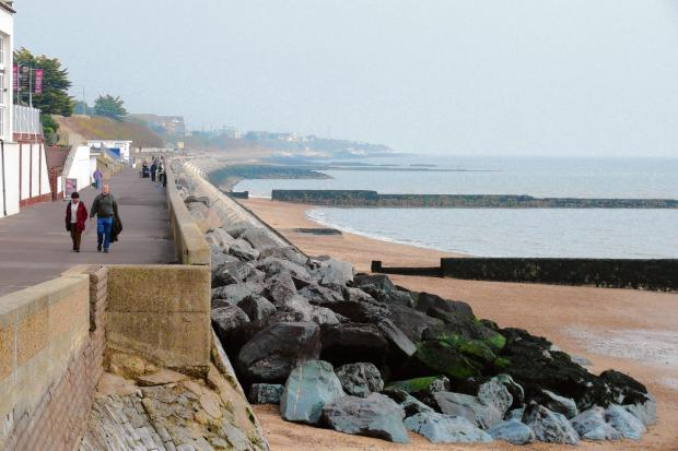 Clacton and Frinton Gazette: Vital paperwork granted for £36m sea defence scheme