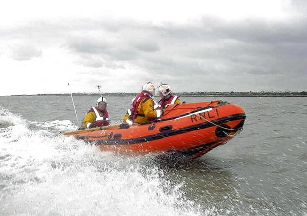Lifeboat launched after intercepted mayday call