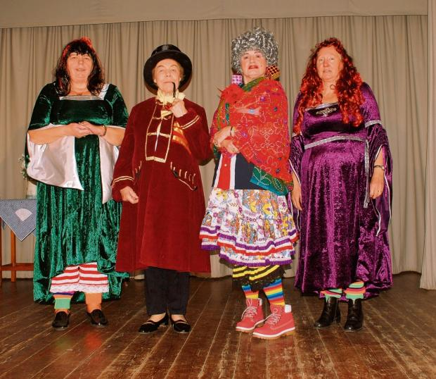 Audience dazzled by WI panto