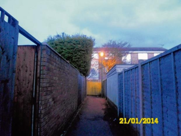 Street light switch-off plan sparks alley assault fears