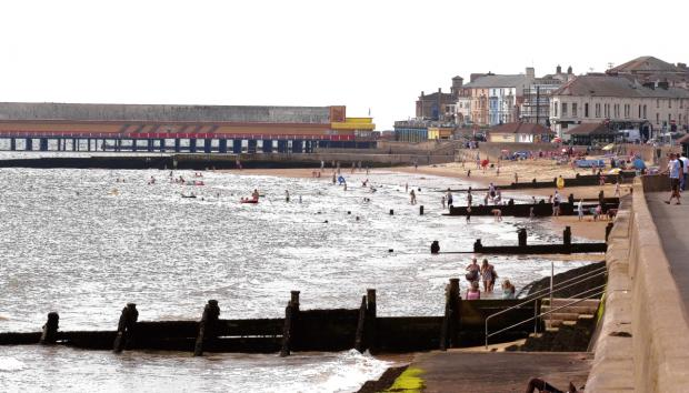 Seafront colonnade could get £20k revamp