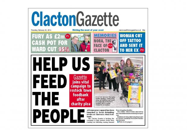 Are YOU in today's Gazette!