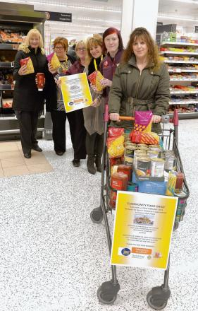 Drive to stock Clacton foodbank takes place tomorrow