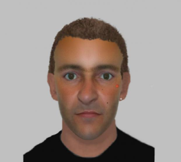 Police issue e-fit of man following sexual assault