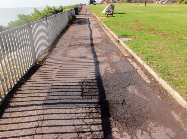 Seafront path to be resurfaced