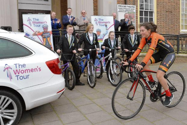 Tendring gears up for Women's Tour cycling race