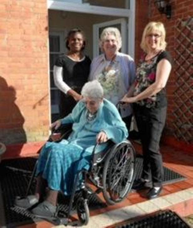 Clacton and Frinton Gazette: Clacton club boosts care home with wheelchair donation