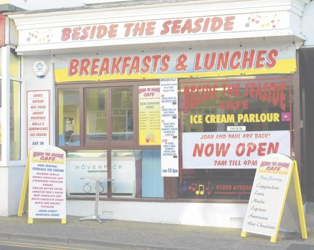 Seafront cafe owner is back in business after cancer battle