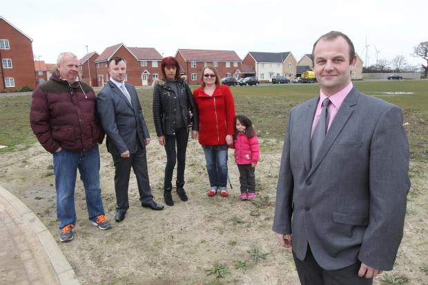 Residents welcome community centre plans for new estate