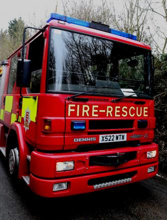 Fire crews called to A120 crash near Frating