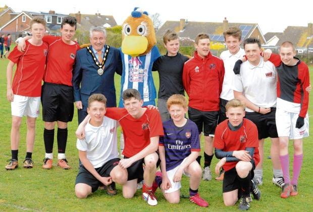 Tendring youngsters do their bit for Sport Relief