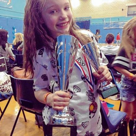 Young street dance star clinches gold