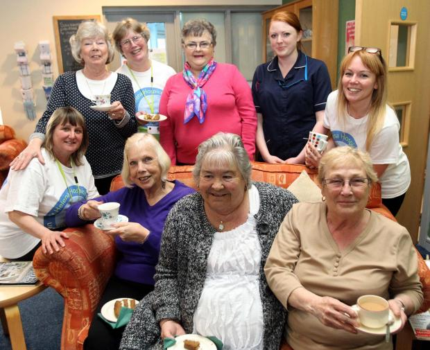 Clacton day centre celebrates hospice week with special tea party