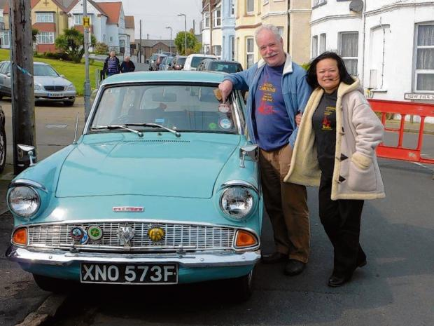 Vintage vehicle appearance boosts pirate radio celebration