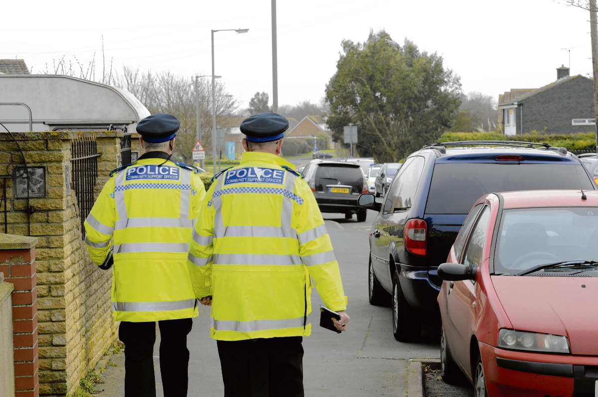 Walton officers check cars