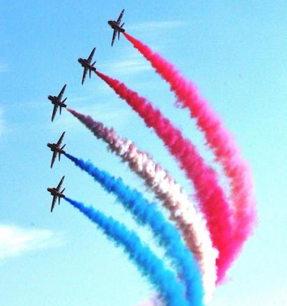 Red arrows returning to Clacton Air Show