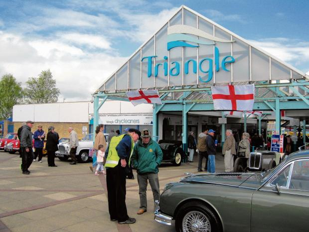 Triangle packed with fun day visitors
