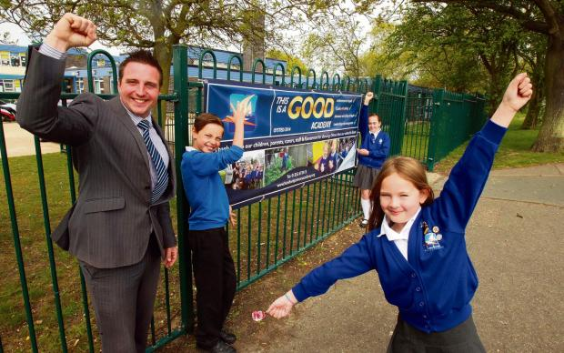 School celebrates Ofsted rating after dramatic turnaround