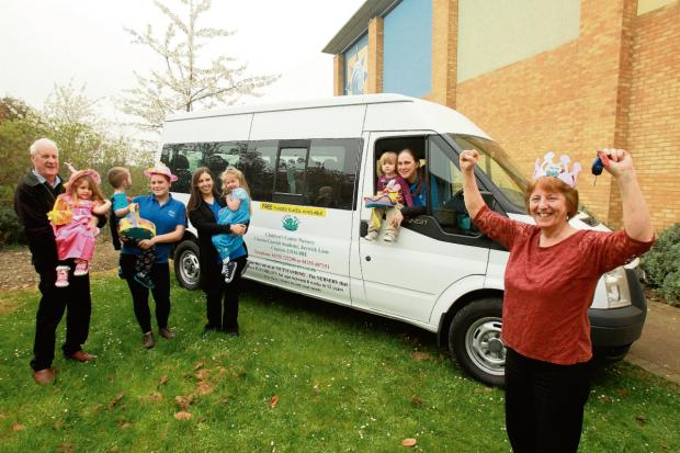 Clacton and Frinton Gazette: Celebration for nursery after minibus fundraising success