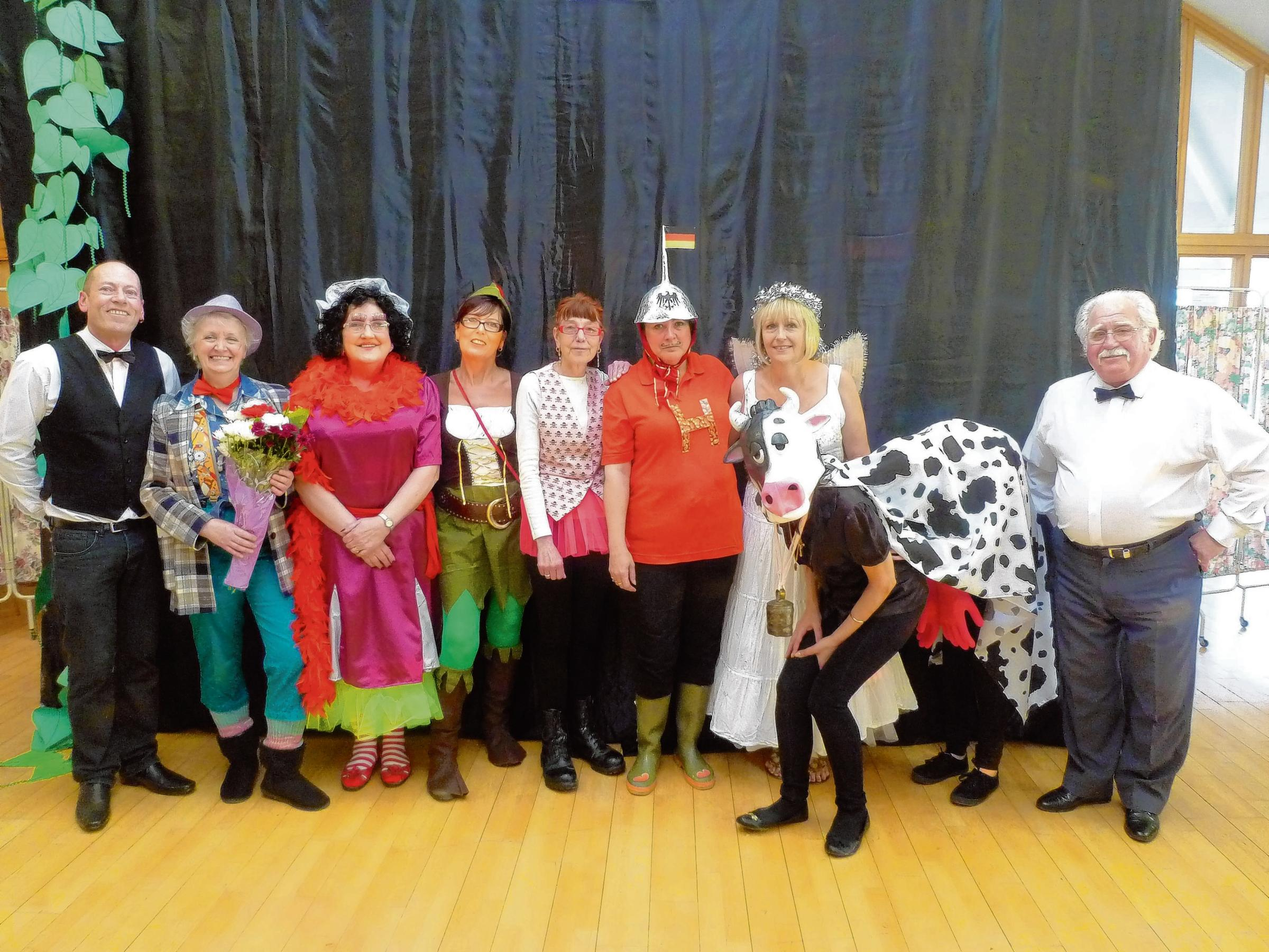 Creative panto for care home residents
