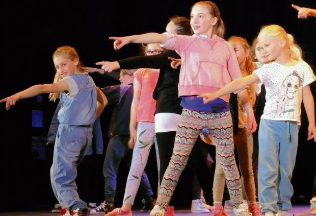 Dramatic workshop for talented youngsters