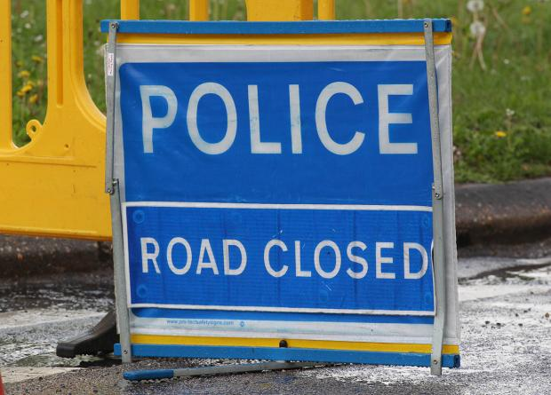 A133 closed at Great Bentley following crash